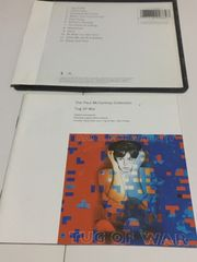 CD☆ Paul McCartney - Tug Of War 1982 不織布