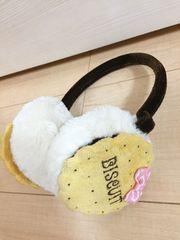 ◆ 新品 ◆ 未使用 ◆ 耳あて ビスケット 可愛い kids