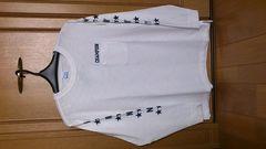 激安52%オフ今期、チャンピオン、Tシャツ長袖(新品タグ、白、L)