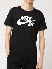 NIKEナイキ☆黒ロゴマークTシャツ