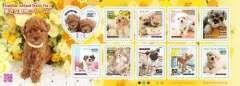 *H27.【犬】身近な動物シリーズ第1集 グリーティング切手82円