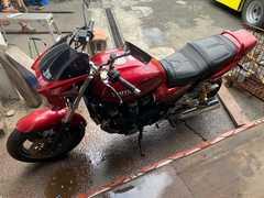 XJR1200 エンジン載せ替え1300