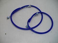 (2062)GSX450Eザリゴキ青色メーターケーブルセット