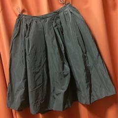 新品◆ローリーズファームLEPSIM◆フレアースカート◆Lカーキ