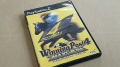 PS2☆ウイニングポスト4マキシマム☆状態良い♪