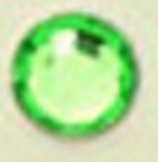 ● 2mm ● デコ用ストーン  2000粒 ライトグリーン