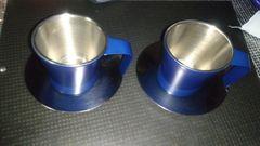 ちょっと贅沢なアツアツコーヒーカップ 2個セット マグカップ