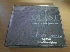 CD「NOVA ノヴァ英語教材CD QUEST Acces」リスニング 英会話★