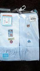 新品 未使用 半袖パジャマ 2枚組 サイズ95 水色 西松屋