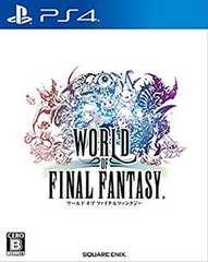 新品/PS4 ワールド オブ ファイナルファンタジー 初回 送料込