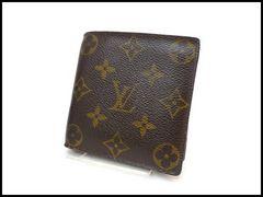 ルイヴィトン モノグラム マルコ メンズ 二つ折り財布 M61675