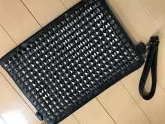 定価12000円 クラッチバッグ★★ブラック ビジュー