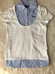レディース   BACKS ブラウス風Tシャツ Mサイズ