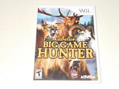 Wii★Cabela's BIG GAME HUNTER 海外版