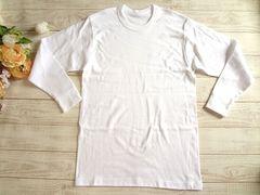 新品 メンズ 厚手 インナーシャツ アンダーシャツ 白 LL