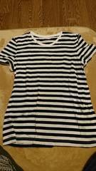 新品*無印ボーダーTシャツ*XL