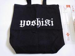 【YOSHIKI ディナーショー2015】お土産 トートバッグ X JAPAN