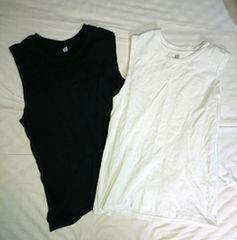2点セット Colony2139 コロニー ノースリーブ Tシャツ トップス ネイビー ホワイト