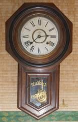 〜戦前頃SEIKOSHA八角8日巻きぜんまい式振り子時計