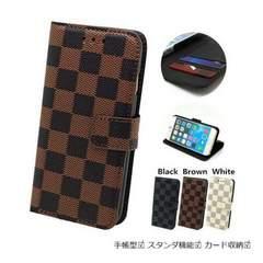 ★送料無料 Xperia Z5 Premium SO-03H 手帳型 5.5インチ 格子ケース