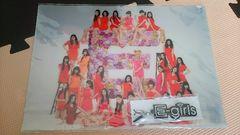 E-girls☆『Lesson 1』☆モバイル限定特典☆クリアファイル