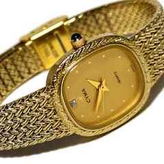 良品 CYMA シーマ【ジルコニア】上品な腕時計