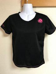 ★SteerBlue 黒×スポーツTシャツ  L★