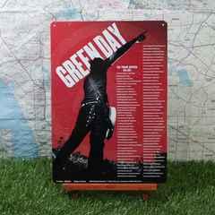 新品【ブリキ看板】Green Day/グリーン・デイ US Tour 04-05