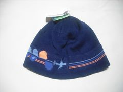 wb363 女 BILLABONG ビラボン ニット帽 ビーニー 紺