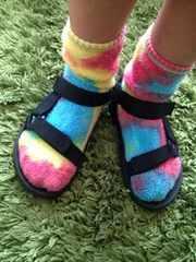 デニム&ダンガリー タイダイソックス 靴下 約20cm