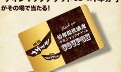 送込!チキンマックナゲット無料券×10枚☆マクドナルド♪(*´`)