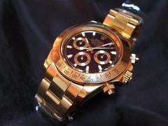 新品 116528G  ロレックス デイトナゴールド・ブラック