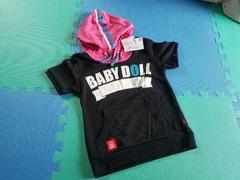 BABYDOLL☆半袖パーカー☆ベビードール 新品