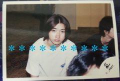 レア★嵐 大野智 公式写真*嵐ロゴ*1999ハワイ�B