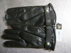 カシミヤニット裏 高品質羊皮革手袋23