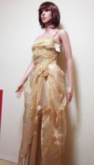 新品ageha…キラ�Aちゅーる&刺繍の金ドレス☆3点で即落☆