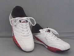 LARKINS(ラーキンス) カジュアルスニーカー 6236 25.0cm 白/赤