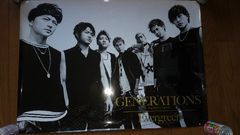GENERATIONS from EXILETRIBE『Evergreen』ポスター