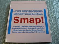 SMAP『Drink! Smap!』【初回盤】世界に一つだけの花 収録/他出品