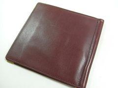 ◆本物確実正規美品 カルティエ 2つ折札入れ財布