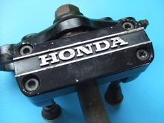 激レア当時物CB400LCトップブリッジ ステム旧車ホーク ヨシムラ
