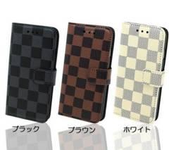 送料無料 Xperia Z4 ( SO-03G / SOV31 / 402SO )手帳型 格子ケース