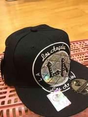 LA直輸入   BBキャップ   黒シルバー   刺繍  サイズXL  9
