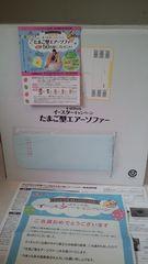 懸賞当選☆森永製菓*たまご型エアーソファー☆キョロちゃん収納バッグ付き♪