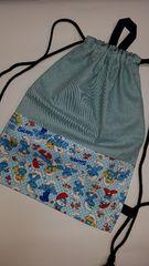 18 ◆ ナップサック巾着 (^o^)着替え袋 ハンドメイド