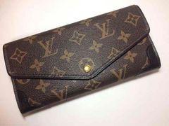 Louis Vuitton モノグラム レティーロ 黒 長財布 二つ折り