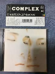 COMPLEX コンプレックス 吉川晃司 布袋寅泰 BOOWY 帯付CD