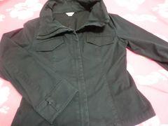 Lサイズ 11号 黒ジャケット USED OL オフィス