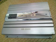 カロッツェリア GM-X9400 CLASS A 4chアンプ 訳あり