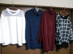 3L4L☆冬服ニットなどまとめて4点